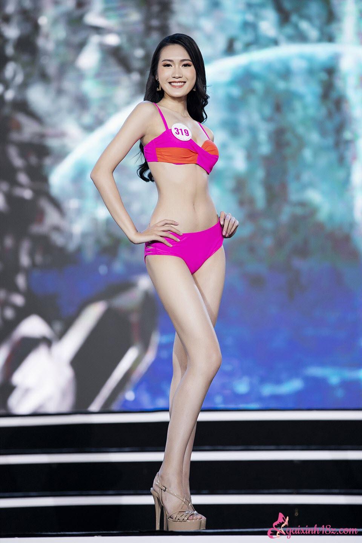 Đoàn Hải My trong cuộc thi hoa hậu Việt Nam