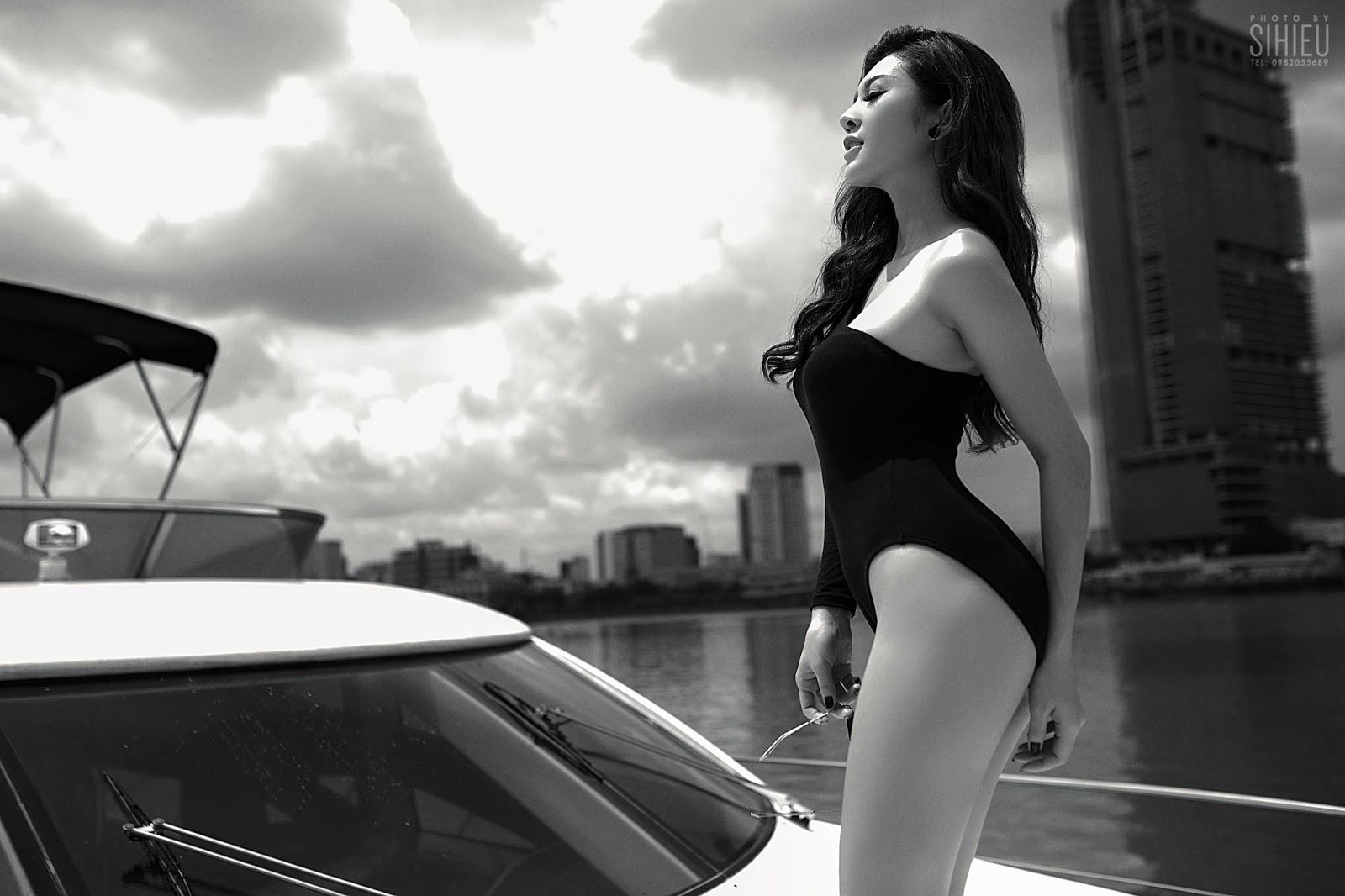 Hot girl du thuyền Thiên Hương 10
