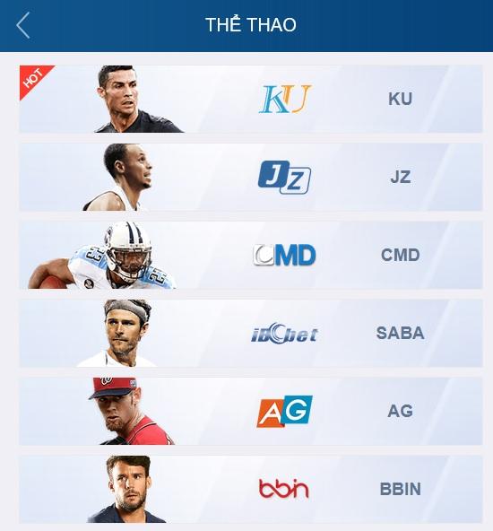 ku89 thể thao có trực tiếp bóng đá tốc độ cao
