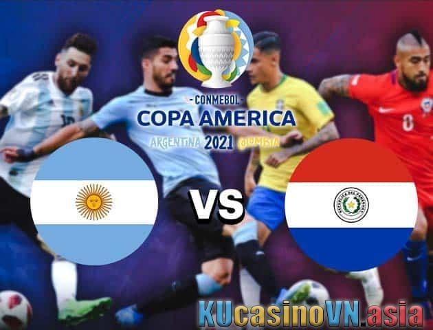 Argentina vs Paraguay, ngày 22 tháng 6 năm 2021 - Copa America