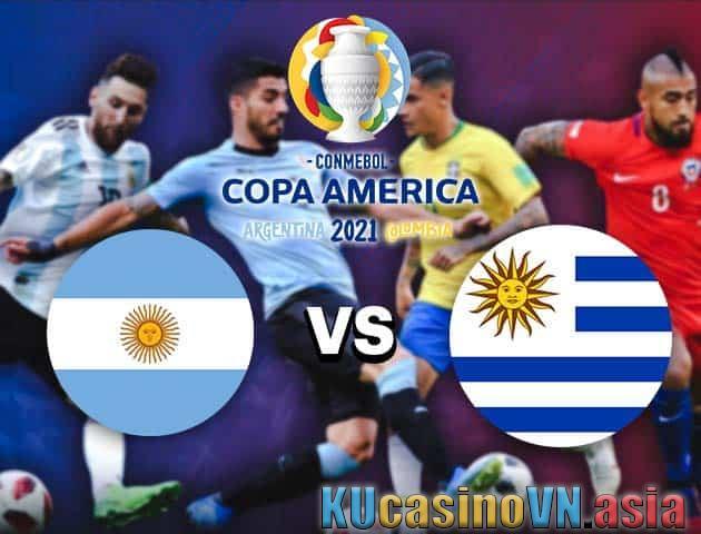 Argentina vs Uruguay, ngày 19 tháng 6 năm 2021 - Copa America