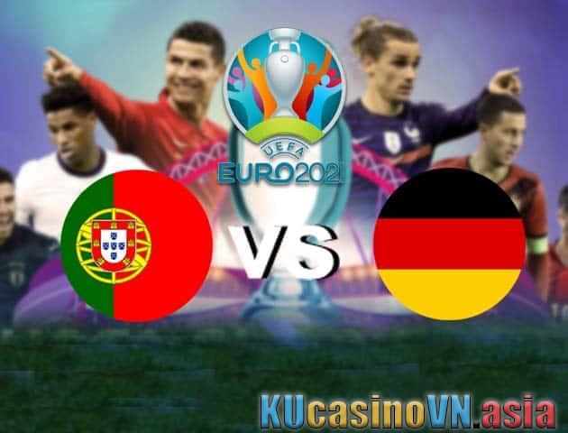 Bồ Đào Nha vs Đức, 19/06/2021 - Giải vô địch bóng đá châu Âu