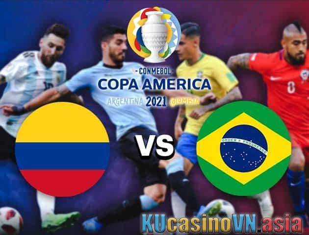 Brazil vs Colombia, ngày 24 tháng 6 năm 2021 - Copa America