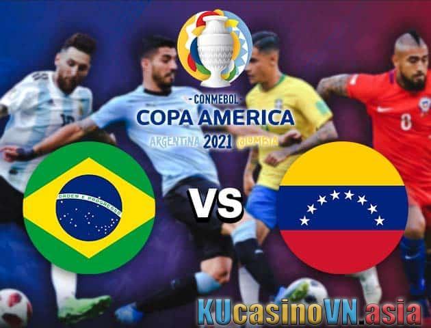 Brazil vs Venezuela, ngày 15 tháng 6 năm 2021 - Copa America