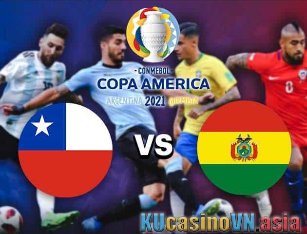 Chile vs Bolivia, ngày 19 tháng 6 năm 2021 - Copa America
