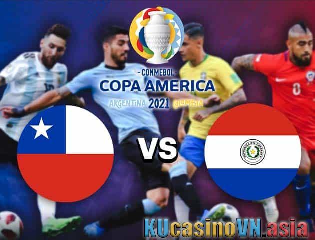 Chile vs Paraguay, ngày 25 tháng 6 năm 2021 - Copa America