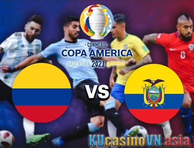 Colombia vs Ecuador, ngày 15 tháng 6 năm 2021 - Copa America