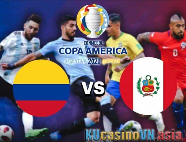 Colombia vs Peru, ngày 21 tháng 6 năm 2021 - Copa America