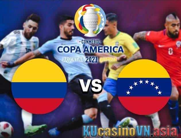 Colombia vs Venezuela, ngày 18 tháng 6 năm 2021 - Copa America