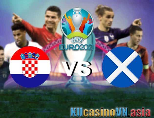 Croatia vs Scotland, ngày 23 tháng 6 năm 2021 - Giải vô địch bóng đá châu Âu
