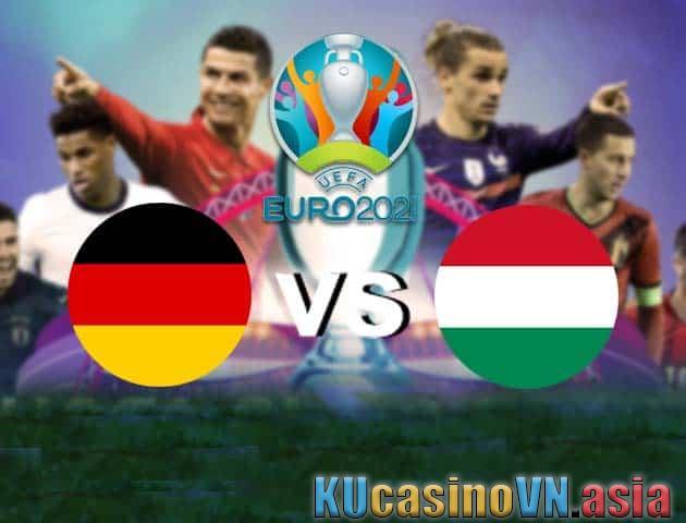 Đức vs Hungary, ngày 24 tháng 6 năm 2021 - Giải vô địch bóng đá châu Âu