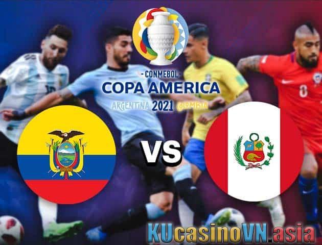 Ecuador vs Peru, ngày 24 tháng 6 năm 2021 - Copa America