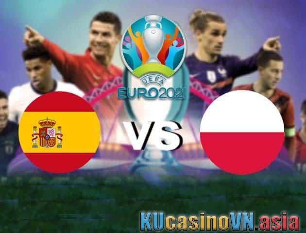 Tây Ban Nha vs Ba Lan, 20/06/2021 - Giải vô địch bóng đá châu Âu