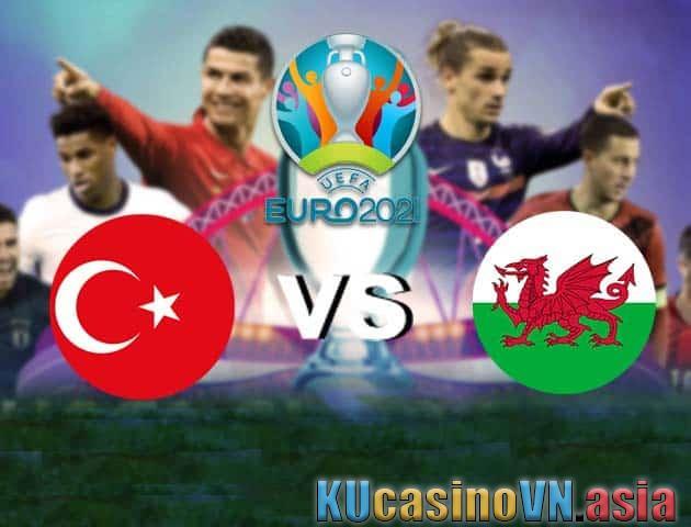 Thổ Nhĩ Kỳ vs Xứ Wales, 16/06/2021 - Giải vô địch bóng đá châu Âu