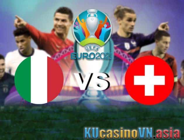 Ý vs Thụy Sĩ, ngày 17 tháng 6 năm 2021 - Giải vô địch bóng đá châu Âu