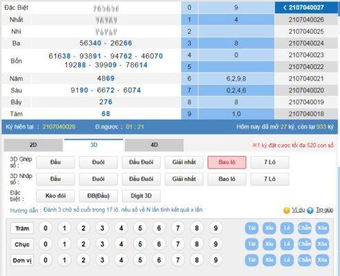 cách chơi 2D trong 18 lô bet kubet