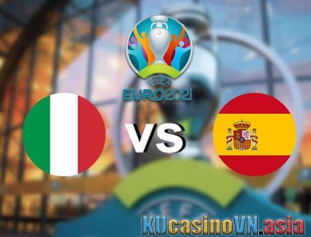 Ý vs Tây Ban Nha, 07/07/2021 - Giải vô địch bóng đá châu Âu
