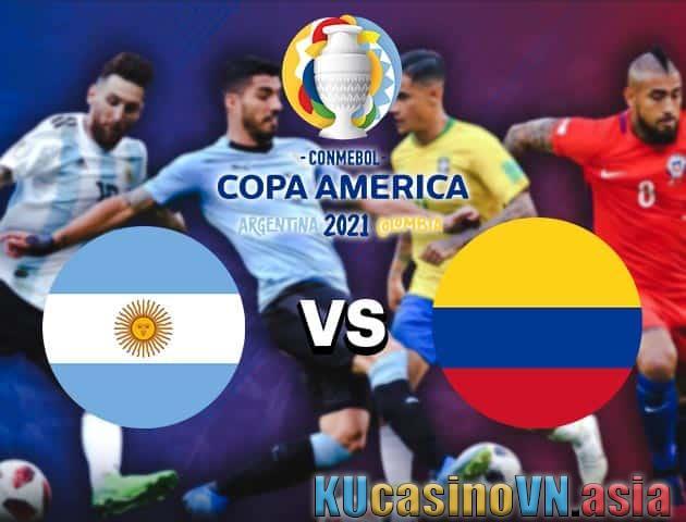 Argentina vs Colombia, 07/07/2021 - Copa America