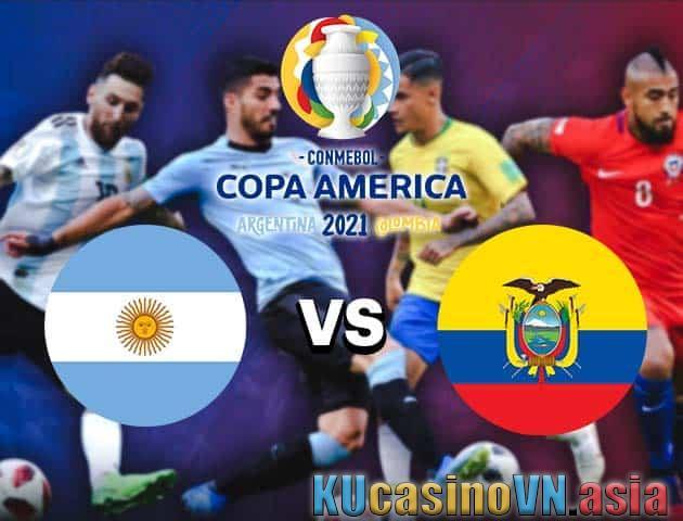Argentina vs Ecuador, 04/07/2021 - Copa America