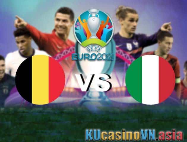 Bỉ vs Ý, 03/07/2021 - Giải vô địch bóng đá châu Âu