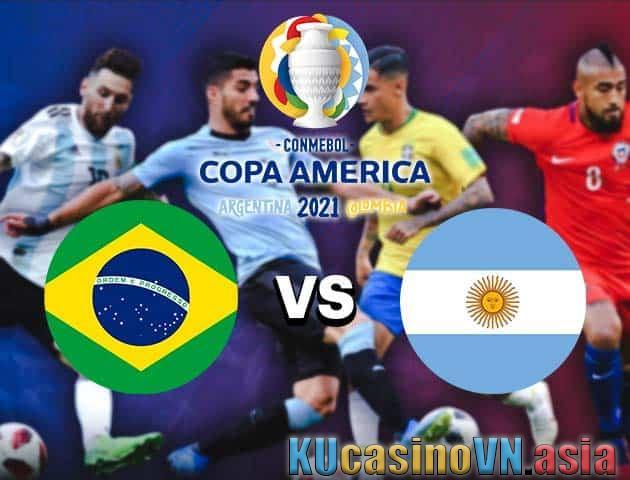 Brazil vs Argentina, 11/07/2021 - Copa America