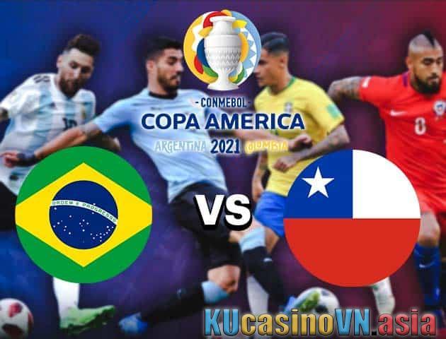 Brazil vs Chile, 03/07/2021 - Copa America