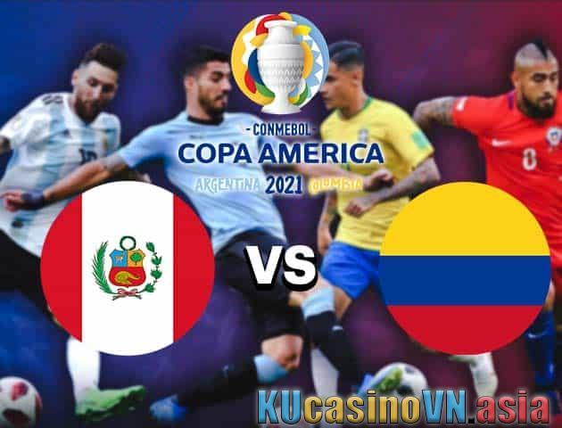 Peru vs Colombia, 10/07/2021 - Copa America