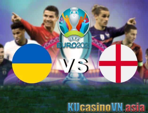 Ukraine vs Anh, 04/07/2021 - Giải vô địch bóng đá châu Âu
