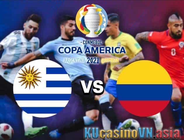 Uruguay vs Colombia, 04/07/2021 - Copa America