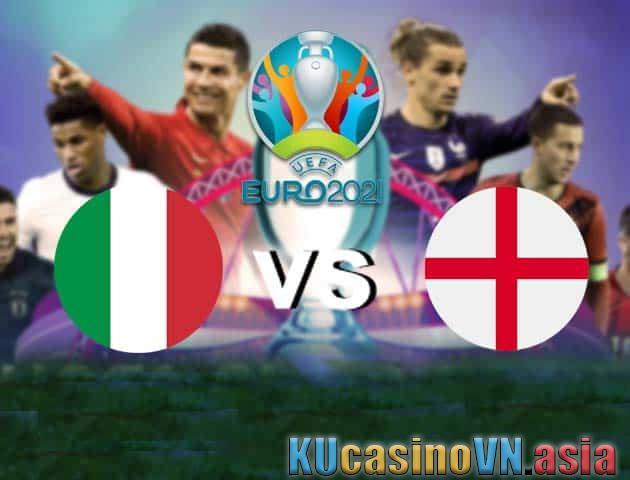 Ý vs Anh, 12/07/2021 - Giải vô địch bóng đá châu Âu