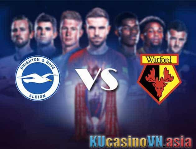 Brighton vs Watford, ngày 21 tháng 8 năm 2021 - Ngoại hạng Anh