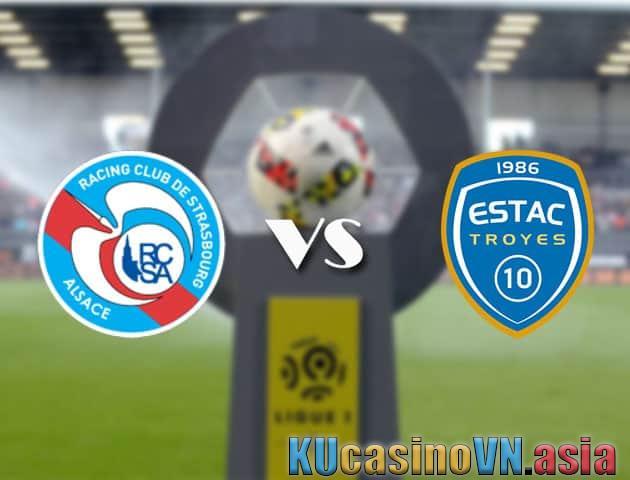 Strasbourg vs Troyes, ngày 22 tháng 8 năm 2021 - Giải VĐQG Pháp [Ligue 1]